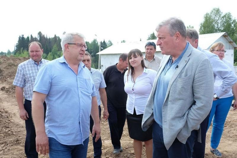 В Верхошижемском районе ведётся строительство водозабора