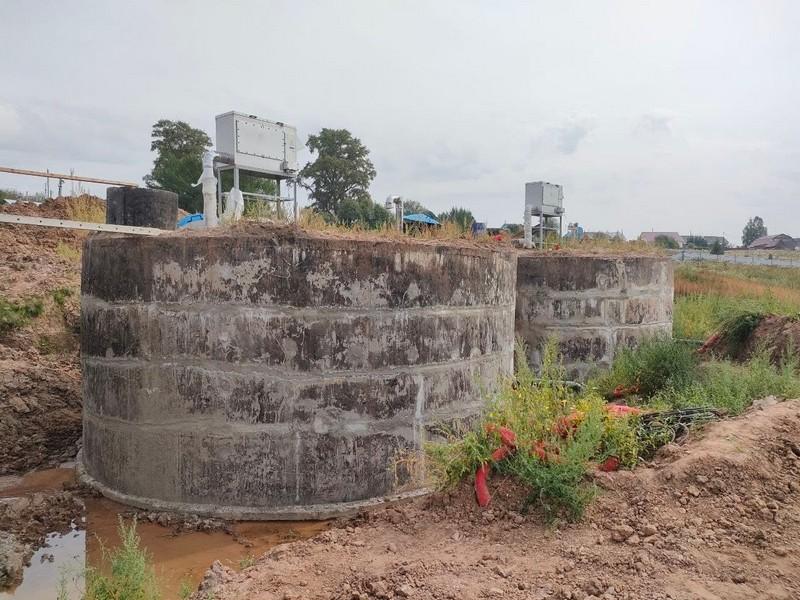 vodozabor Verhoshizhemskiy rayon В Верхошижемском районе ведётся строительство водозабора