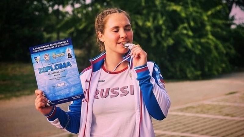 Darya Bazhenova Кировчанка Дарья Баженова взяла золото международного турнира по боксу