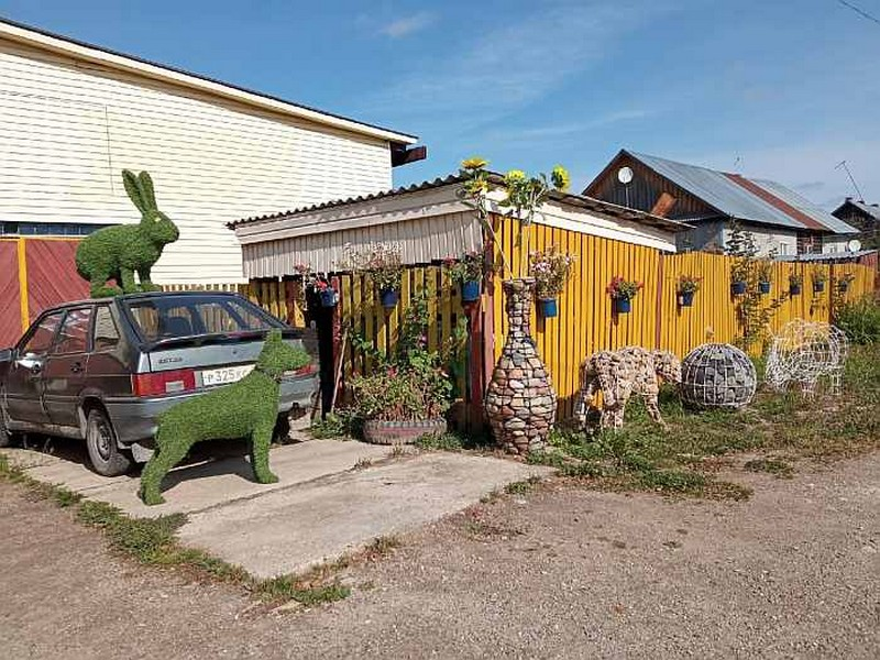 podelki2 Умелец из Кировской области создаёт объёмные арт-фигуры