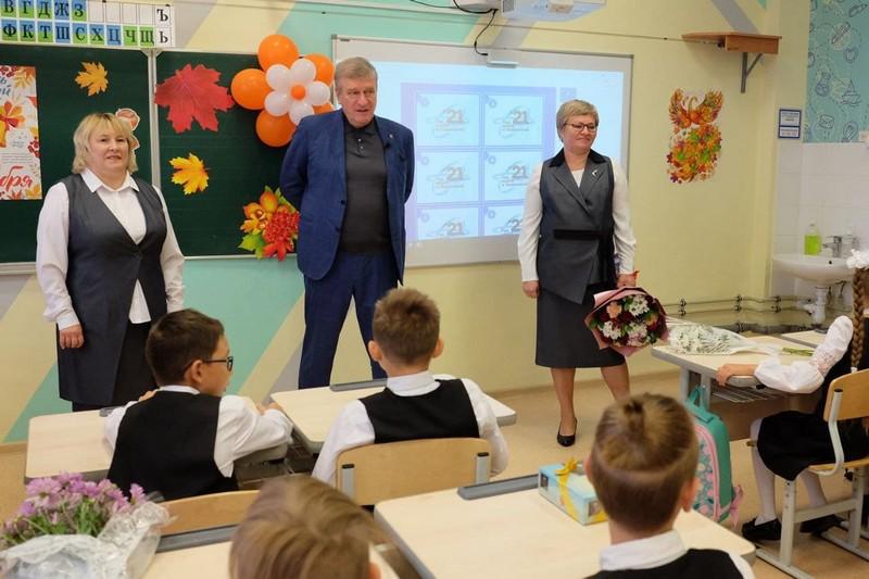 shkola 26 В кировской школе №26 встретили новый учебный год