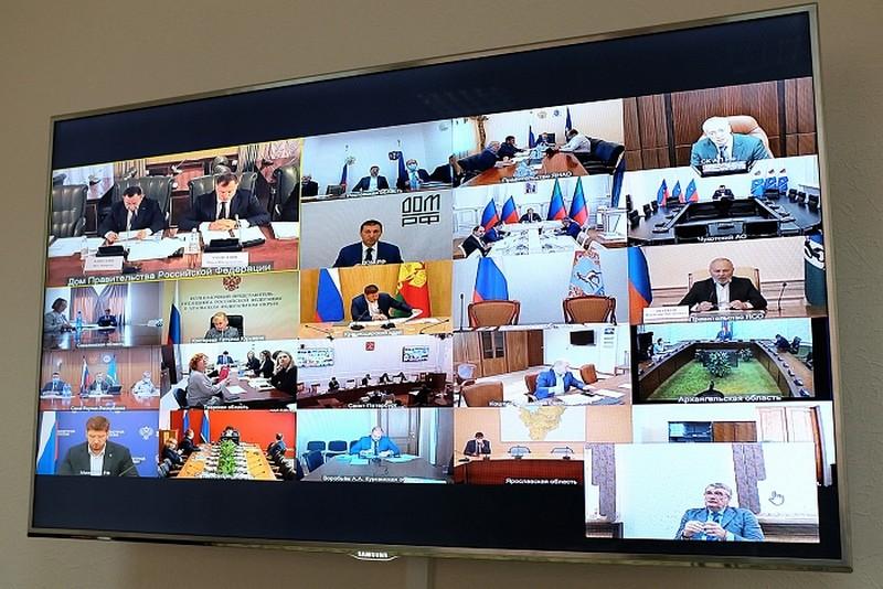 videokonferentsiya Хорошую реализацию нацпроектов в Кировской области отметили на федеральном уровне