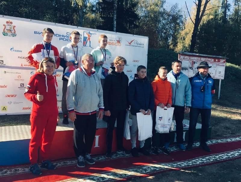 biatlon Кировчанин победил на первенстве России по летнему биатлону